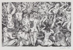 Study of Nudes - Erik Scholz