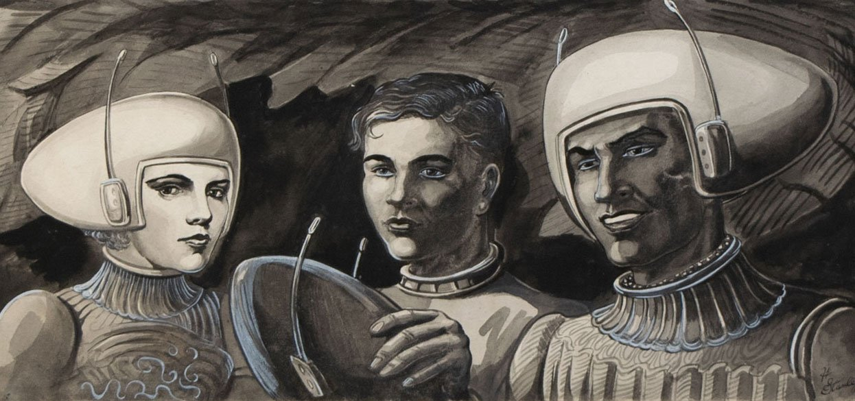 Space People crop