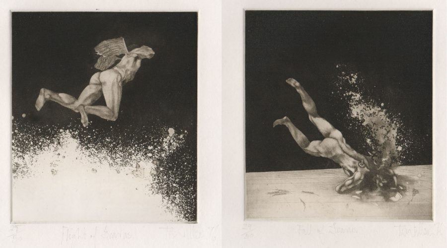 The Flight of Icarus and the Fall of Icarus