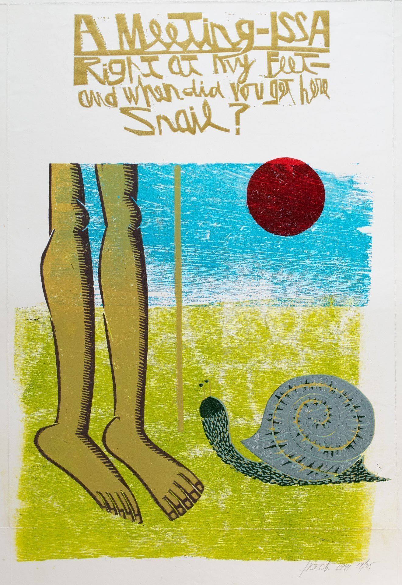 Of a Meeting with a Snail