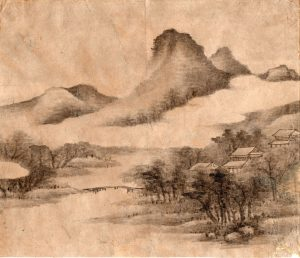 Suiboku Mountain Landscape