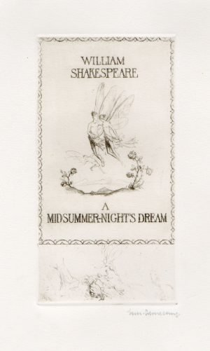 A Midsummer Night's Dream Etchings