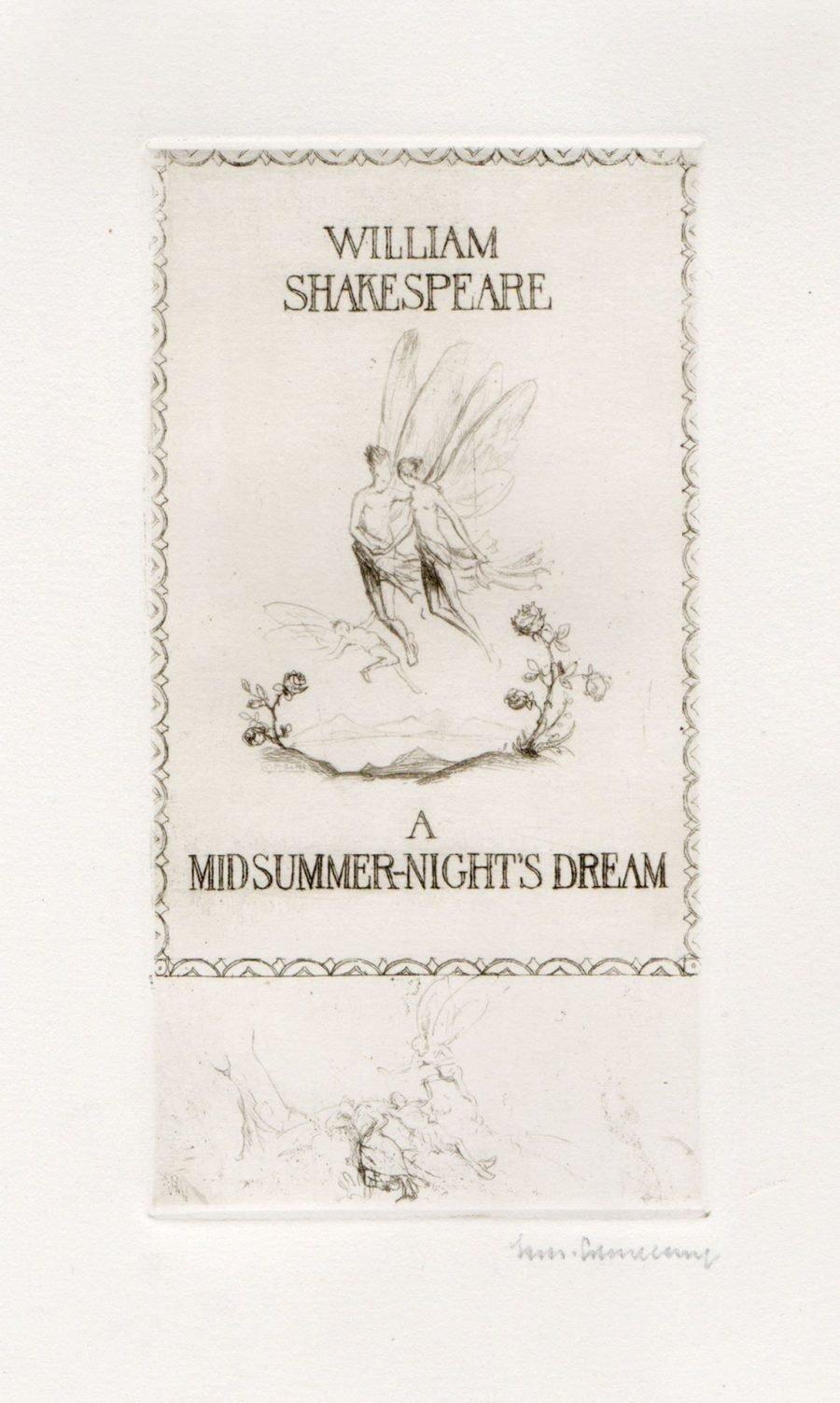 A Midsummer Nights Dream - Cover
