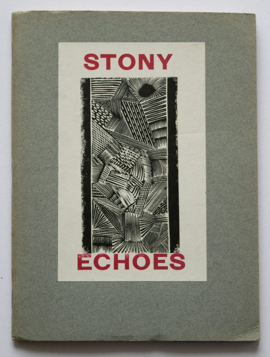 Stony Echoes 10 Poems by Graham Searle