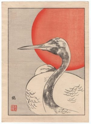 Large Bird - Japanese Woodblock