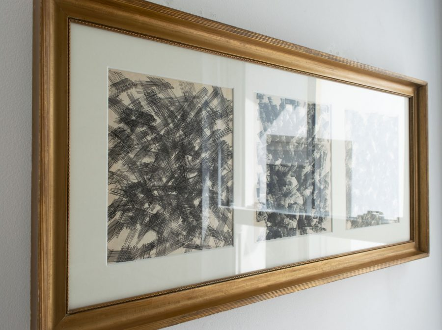 Three Black & White Abstracts