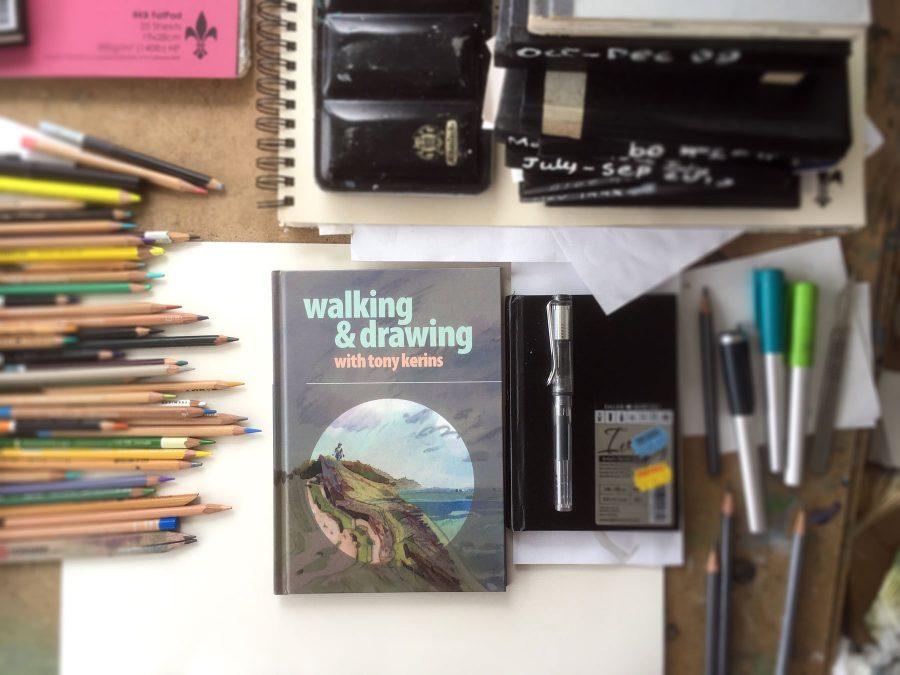 Walking and Drawing