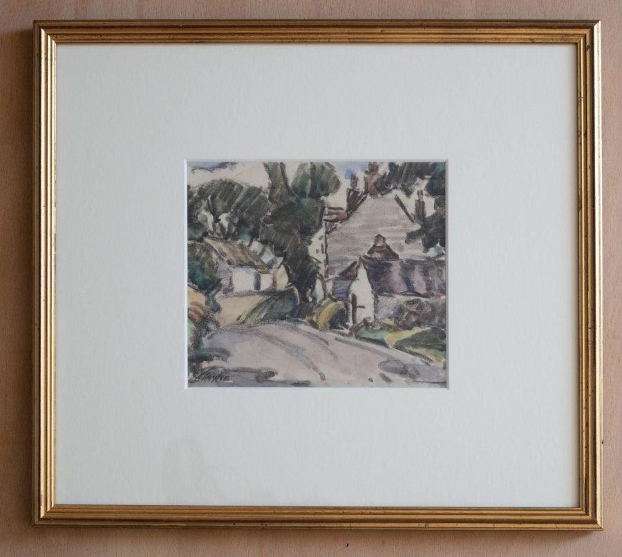 Kirkcudbright Watercolour
