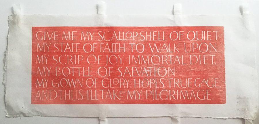 Sir Walter Ralegh poem woodcut