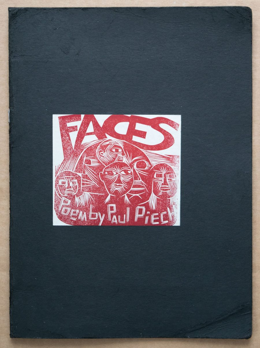 Faces: Poem by Paul Piech